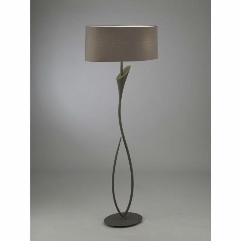 Mantra LUA 3689 állólámpa sötétszürke fém 2xE27 max. 13W E27 2 db
