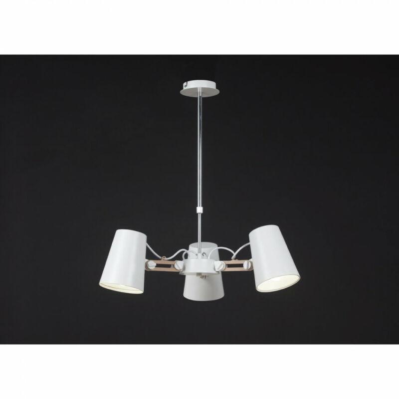 Mantra LOOKER 3771 modern csillár fehér fém 3xE27 max 15W E27 3 db IP20