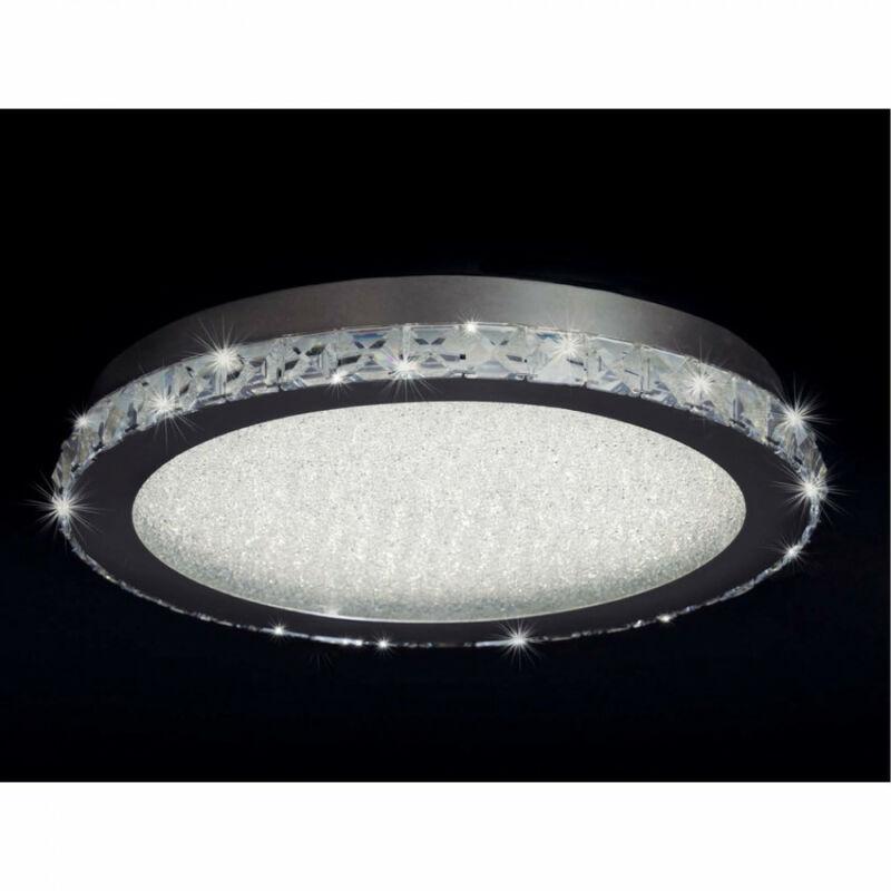 Mantra CRYSTAL 4576 mennyezeti kristálylámpa króm fém 1xLED max. 44W LED IP20