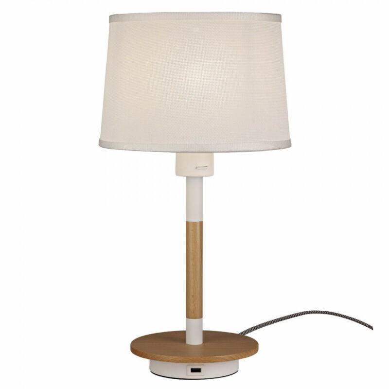 Mantra Nordica II 5464 asztali lámpa fa 1 x E27 max. 23W E27 1 db IP20 A++