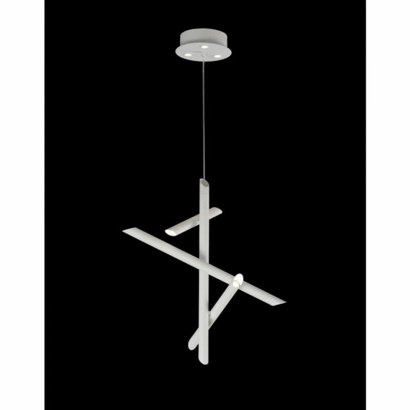 Mantra Take 5780 led függeszték fehér fém LED - 1 x 30W 2700 lm 3000 K IP20 A++