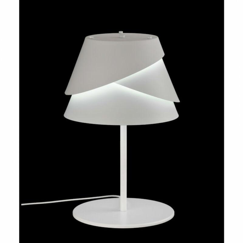 Mantra Alboran 5863 éjjeli asztali lámpa fehér fém 1 x E27 max. 40W E27 1 db IP20