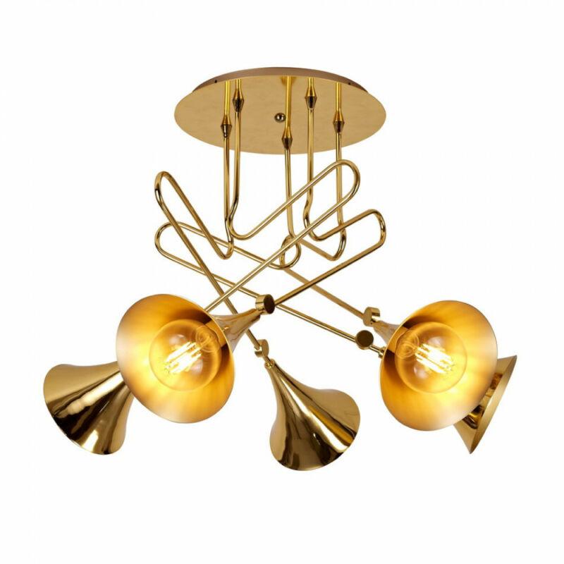 Mantra Jazz 5897 mennyezeti lámpa  arany   fém   5 x E27 max. 20W   IP20