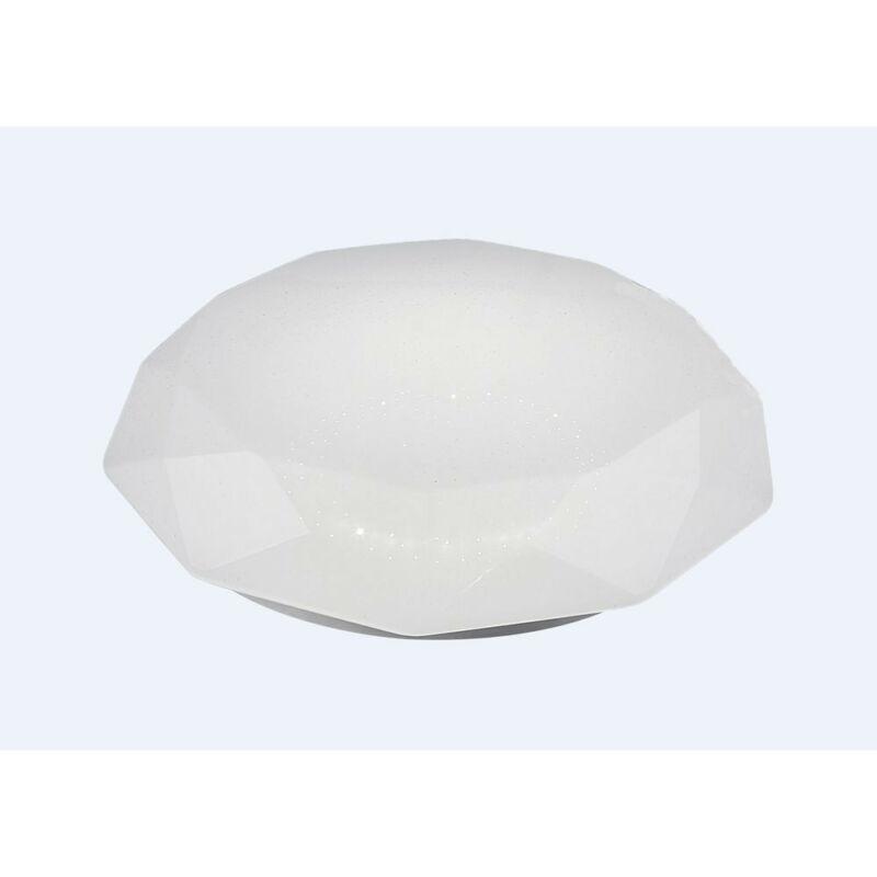 Mantra DIAMANTE SMART 5973 ufó lámpa fehér fém led 80W 5200lm 5200 lm 3000-5000 K IP20