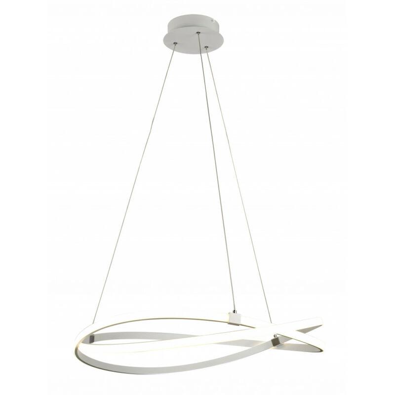 Mantra Infinity Blanco 5991 led függeszték fehér akril LED - 1 x 60W 4500 lm 2800 K IP20 A++