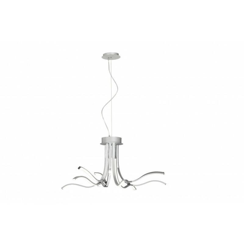 Mantra CORINTO 6105 modern függeszték ezüst alumínium led 60W 4800lm 4800 lm 3000 K IP20