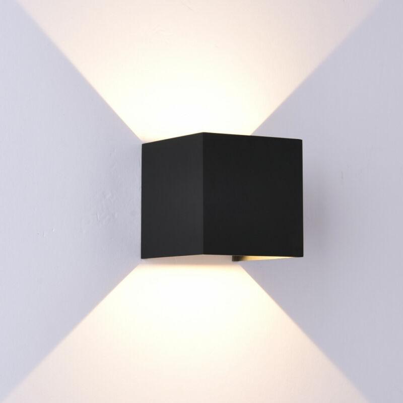 Mantra DAVOS 6524 kültéri fali led lámpa homokfekete 1100 lm 3000 K IP54