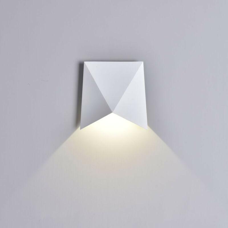 Mantra TRIAX 6526 kültéri fali led lámpa fehér alumínium led 8W 750lm 750 lm 3000 K IP54