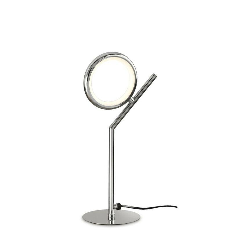 Mantra OLIMPIA CHROME 6596 éjjeli asztali lámpa króm alumínium led 8W 600lm 600 lm 3000 K IP20
