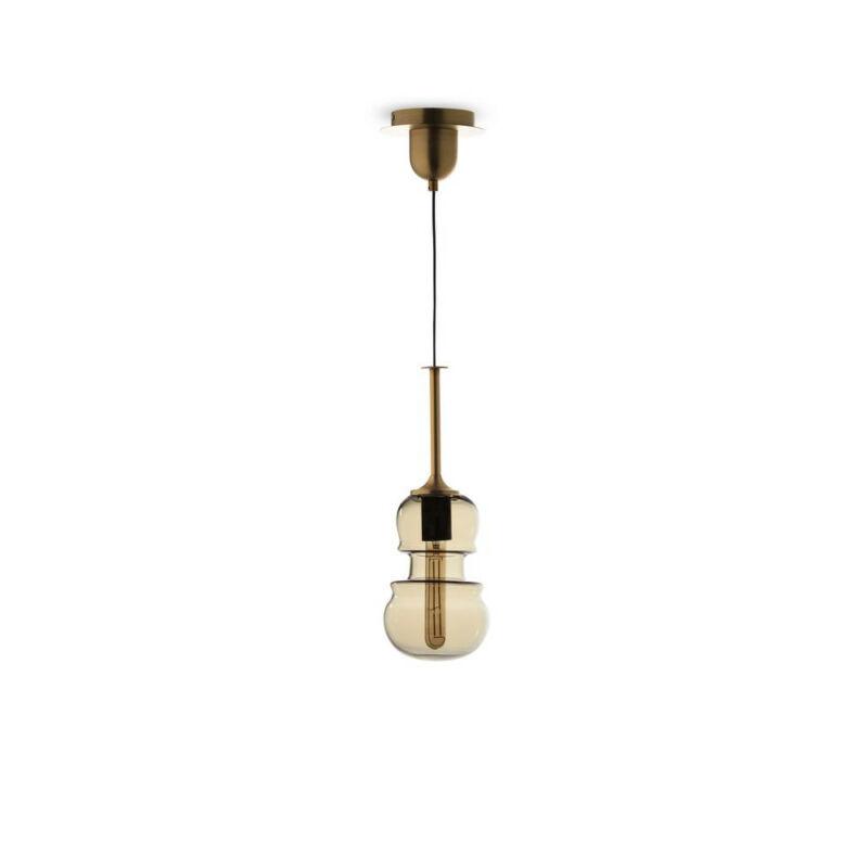 Mantra SONATA 6696 egyágú függeszték bronz fém 1*E27 max20W E27 1 db IP20