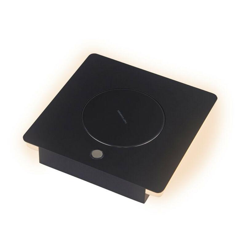 Mantra ZANZIBAR 6716 ledes asztali lámpa fekete fém led 6W 450lm 450 lm 3000 K IP20