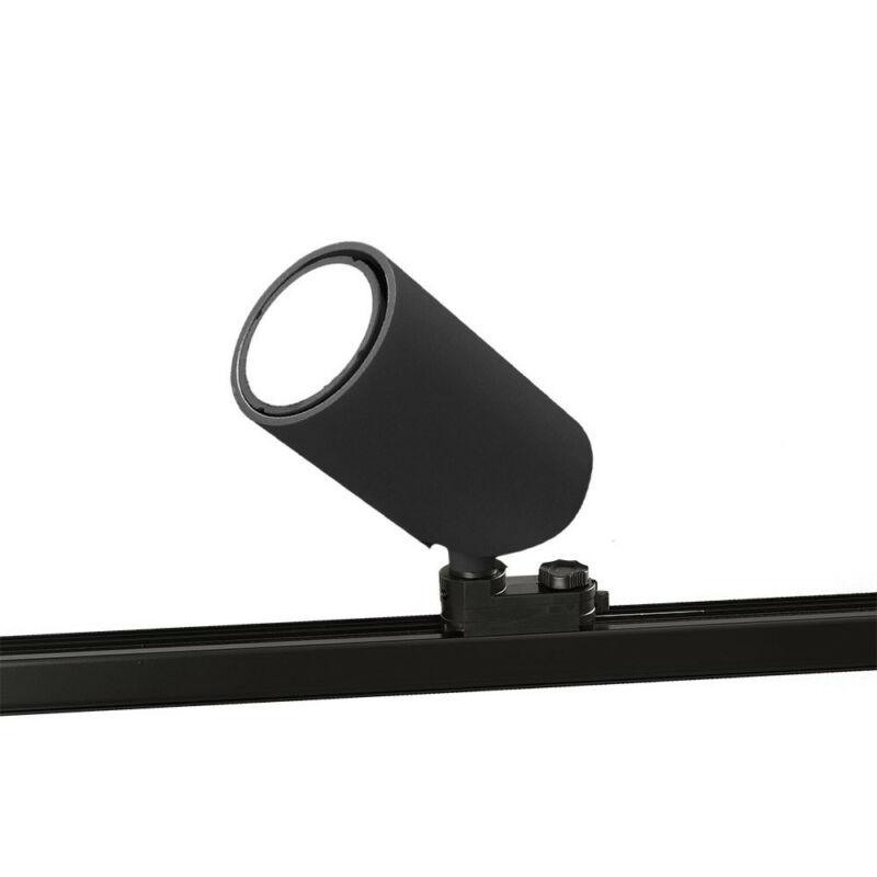 Mantra SAL BLACK 6718 sínrendszeres világítás matt fekete alumínium 1*GU10 max10W GU10 1 db IP20