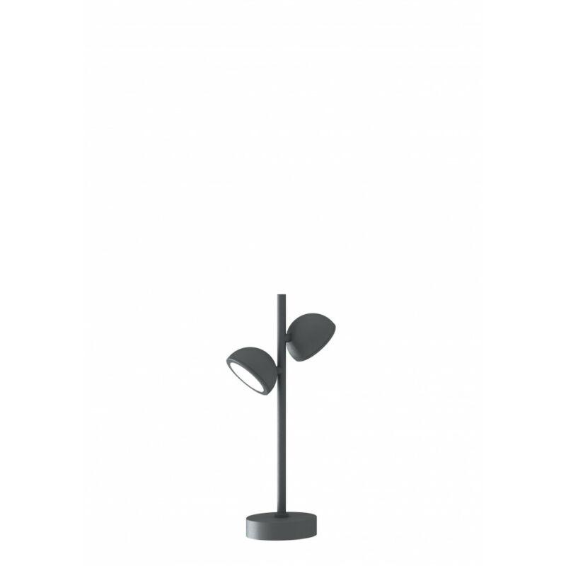 Mantra EVEREST 6741 éjjeli asztali lámpa sötétszürke alumínium 2*GX53 max10W GX53 2 db IP65