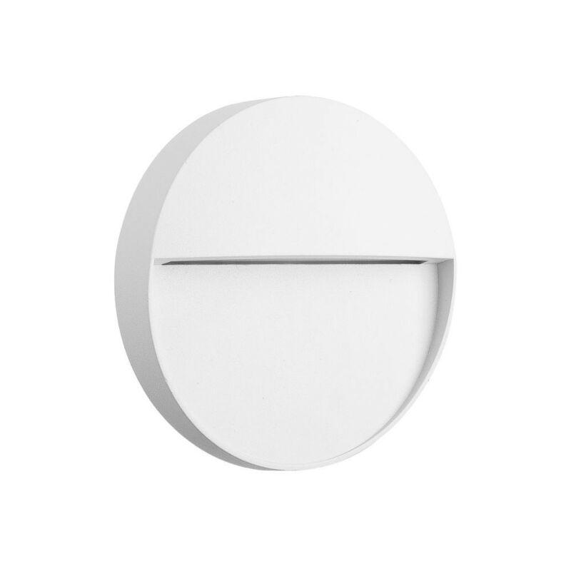 Mantra BAKER 7014 kültéri fali led lámpa fehér alumínium led 3W 210lm 210 lm 3000 K IP54