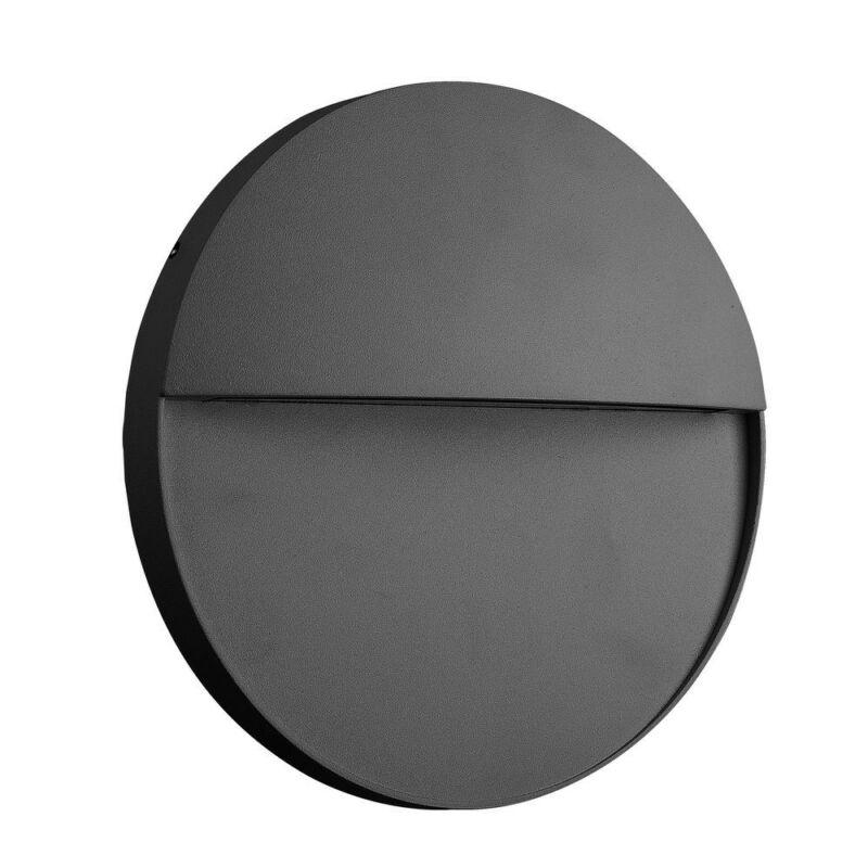 Mantra BAKER 7017 kültéri fali led lámpa sötétszürke alumínium led 6W 420lm 420 lm 3000 K IP54