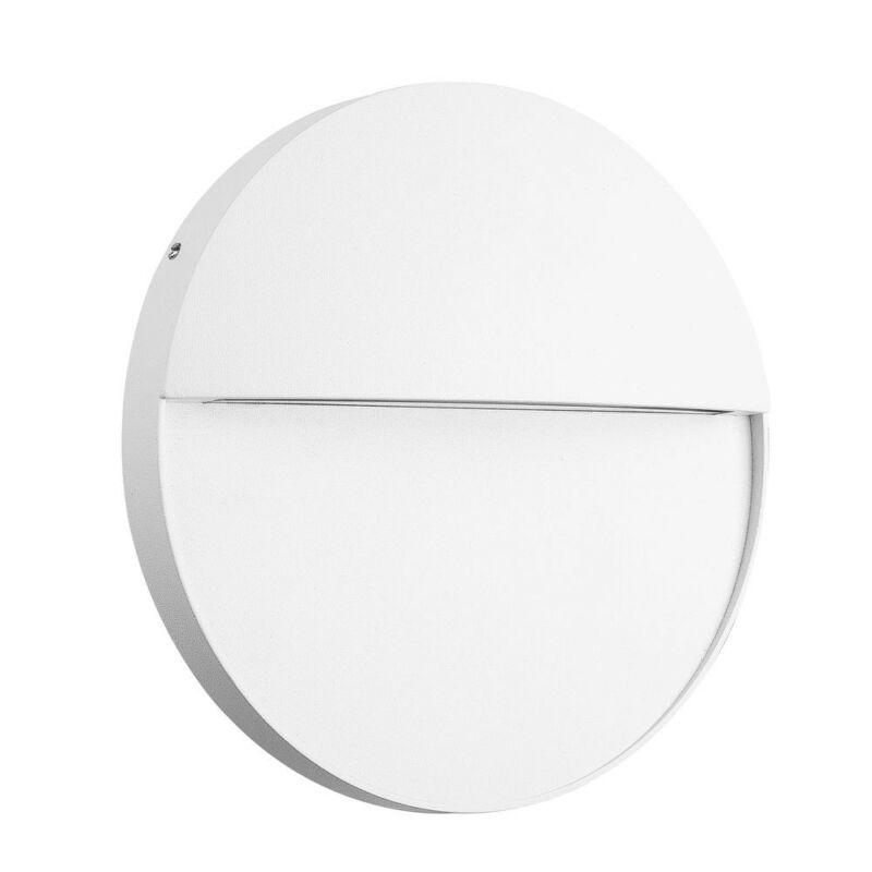 Mantra BAKER 7018 kültéri fali led lámpa fehér alumínium led 6W 420lm 420 lm 3000 K IP54