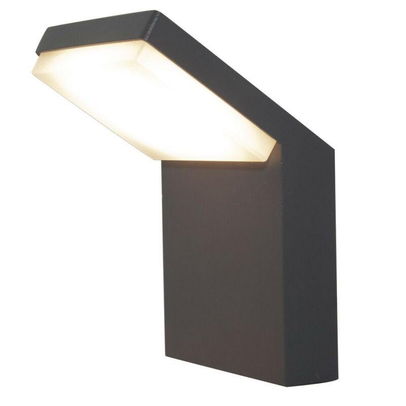 Mantra alpine 7045 kültéri fali led lámpa sötétszürke