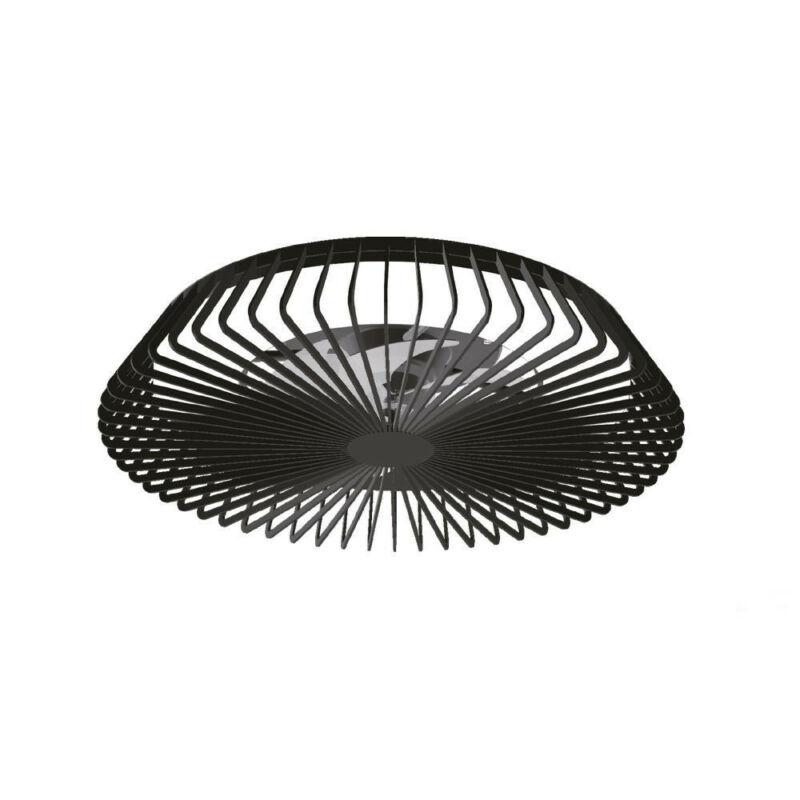 Mantra HIMALAYA 7121 mennyezeti ventilátor fekete LED 70W - 4900 LMS - MANDO - MOTOR 35W