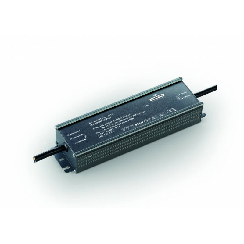 Mantra TIRAS LED STRIPS 7380 led szalag tápegység fekete IP67