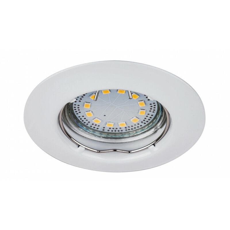 Rábalux Lite 1046 álmennyezetbe építhető lámpa fehér fém GU10 1x MAX 50 GU10 3 db 240 lm 3000 K IP44/ IP40 A+