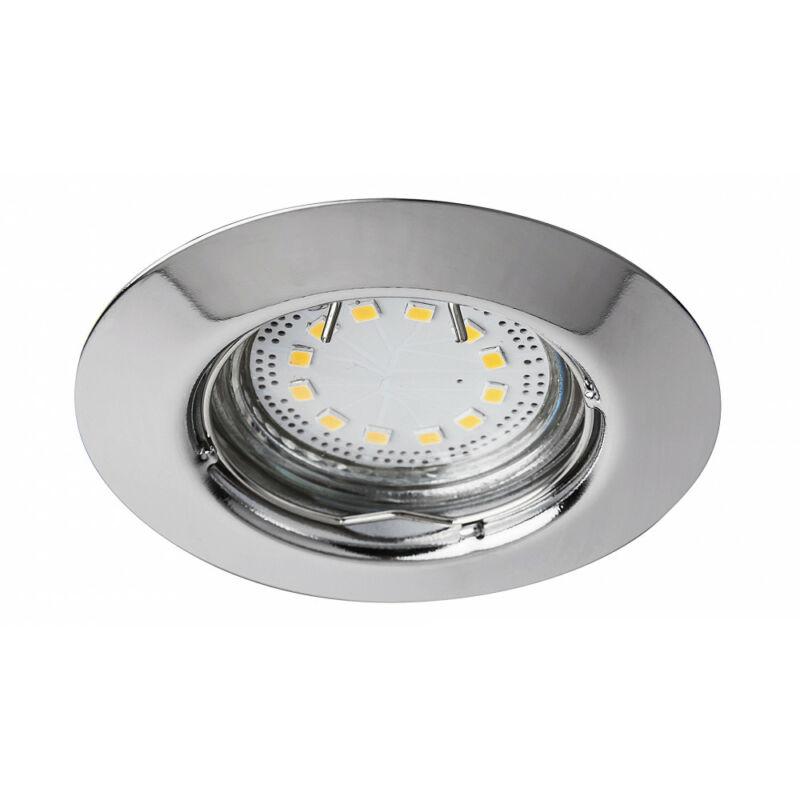Rábalux Lite 1047 álmennyezetbe építhető lámpa króm fém GU10 1x MAX 50 GU10 3 db 240 lm 3000 K IP44/ IP40 A+
