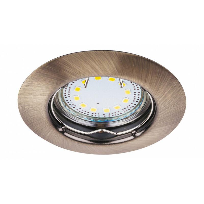 Rábalux Lite 1048 álmennyezetbe építhető lámpa bronz fém GU10 1x MAX 50 GU10 3 db 240 lm 3000 K IP44/ IP40 A+