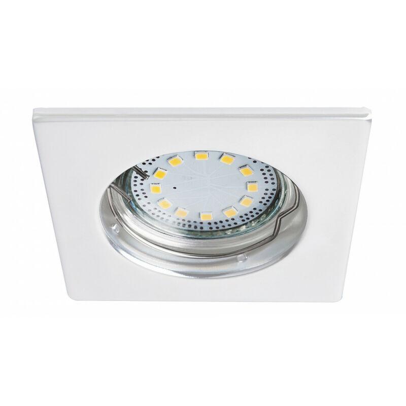 Rábalux Lite 1052 álmennyezetbe építhető lámpa fehér fém GU10 1x MAX 50 GU10 3 db 240 lm 3000 K IP44/ IP40 A+