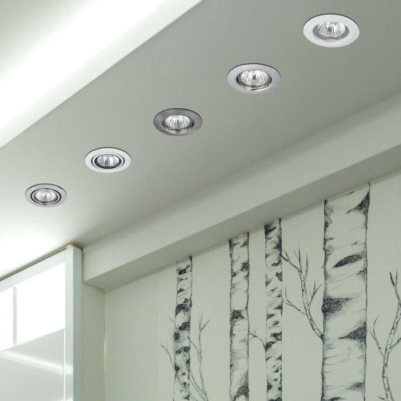 Rábalux Spot relight 1087 álmennyezetbe építhető lámpa fehér fém GU5.3 12V 1x MAX 50 GU5.3 1 db IP20