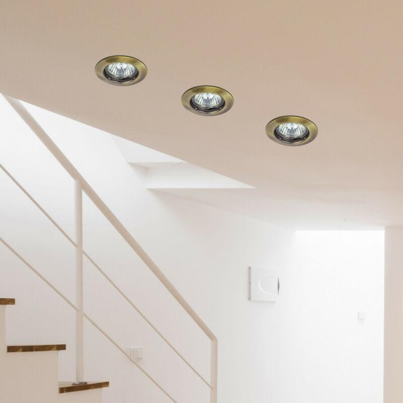 Rábalux Spot relight 1090 álmennyezetbe építhető lámpa bronz fém GU5.3 12V 1x MAX 50 GU5.3 1 db IP20