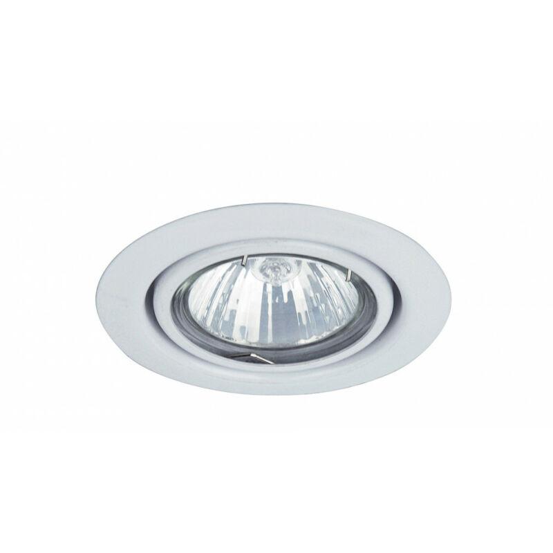 Rábalux Spot relight 1091 beépíthető spotlámpa fehér fém GU5.3 12V 1x MAX 50 GU5.3 1 db IP20