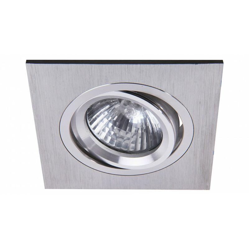 Rábalux Spot fashion 1117 beépíthető spotlámpa súrolt alumínium fém GU5.3 12V 1x MAX 50 GU5.3 1 db IP20