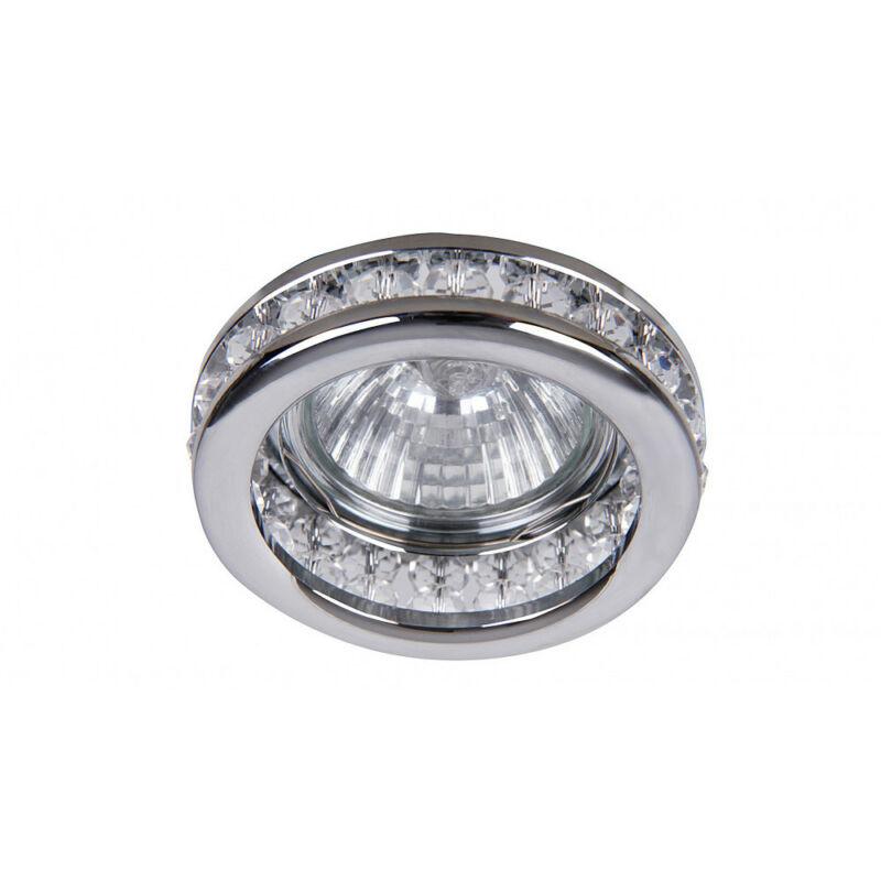 Rábalux Spot fashion 1159 álmennyezetbe építhető lámpa átlátszó fém GU5.3 12V 1x MAX 50W GU5.3 1 db IP20