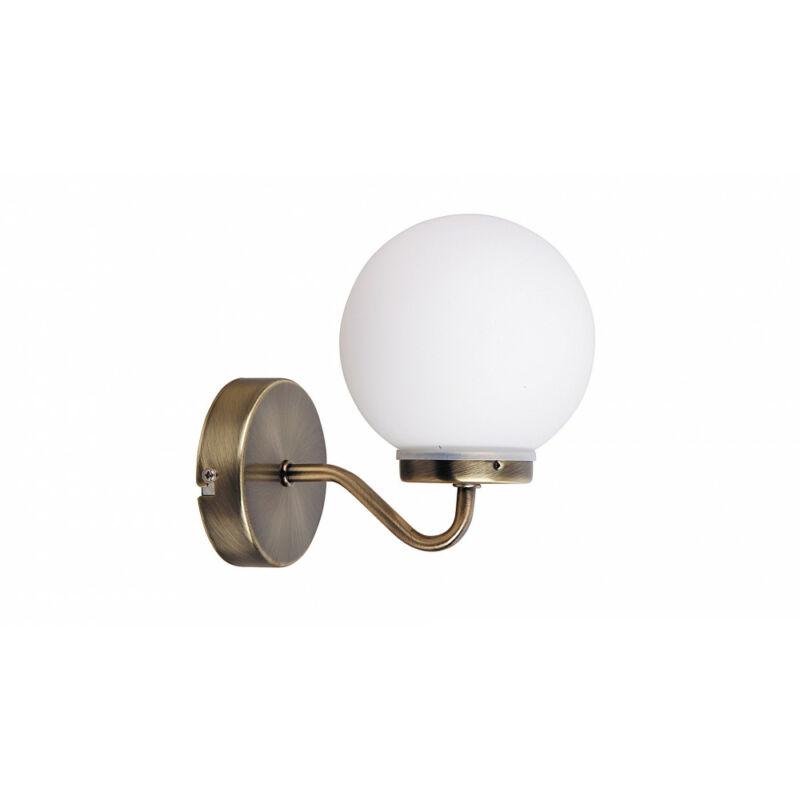 Rábalux Togo 1302 fürdőszoba fali lámpa fehér fém E14 1x MAX 40 E14 1 db IP44