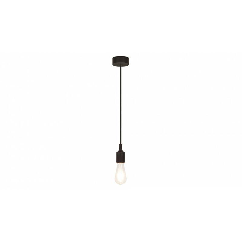 Rábalux Roxy 1412 egyágú függeszték fekete szilikon E27 1x MAX 60 E27 1 db IP20