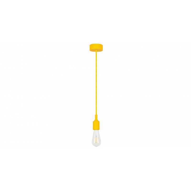 Rábalux Roxy 1413 egyágú függeszték sárga szilikon E27 1x MAX 60 E27 1 db IP20