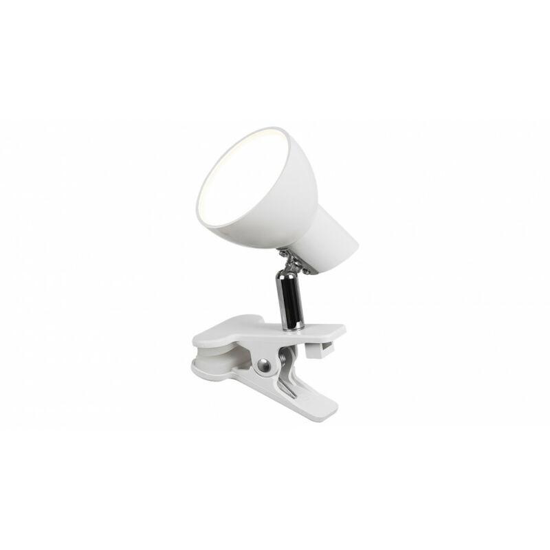 Rábalux Noah 1477 csiptetős olvasólámpa fehér fém LED 5 360 lm 3000 K IP20 A+