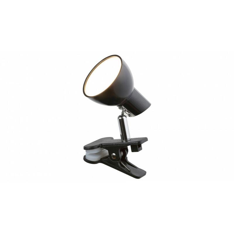 Rábalux Noah 1478 csiptetős olvasólámpa fekete fém LED 5 360 lm 3000 K IP20 A+