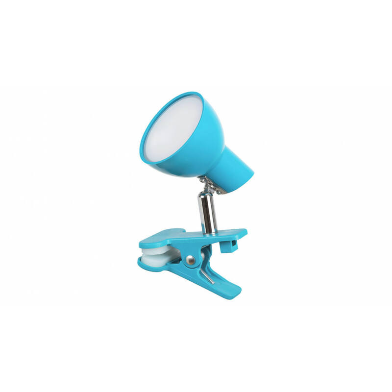 Rábalux Noah 1479 csiptetős olvasólámpa kék fém LED 5 360 lm 3000 K IP20 A+