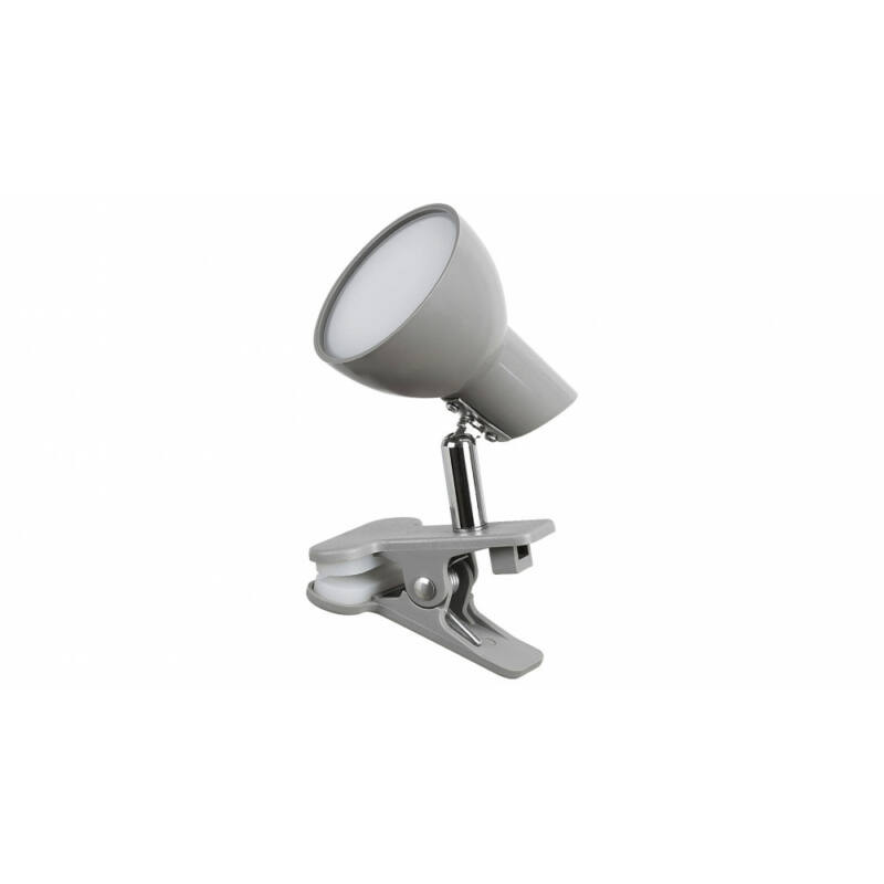 Rábalux Noah 1480 csiptetős olvasólámpa szürke fém LED 5 360 lm 3000 K IP20 A+