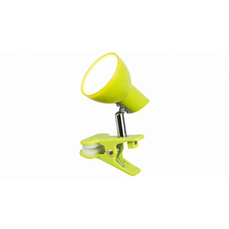 Rábalux Noah 1481 csiptetős olvasólámpa zöld fém LED 5 360 lm 3000 K IP20 A+