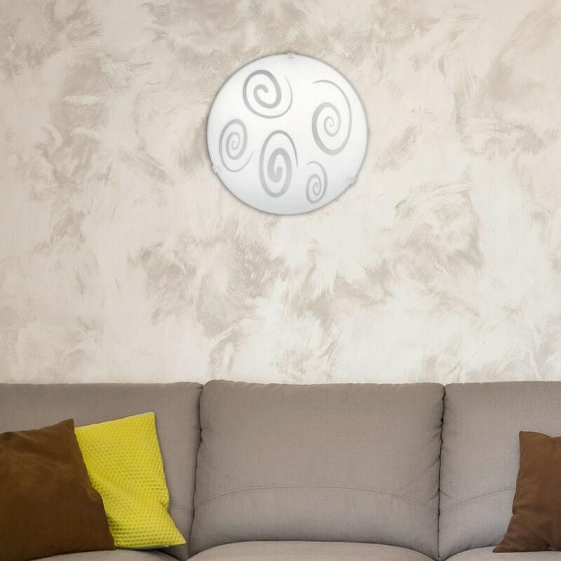 Rábalux Spiral 1822 ufó lámpa  fehér   fém/ műanyag   E27 1x MAX 60W   E27   1 db  IP20
