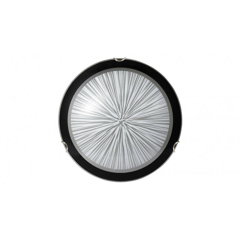 Rábalux Sphere 1857 ufó lámpa fekete fém E27 1x MAX 60 E27 1 db IP20