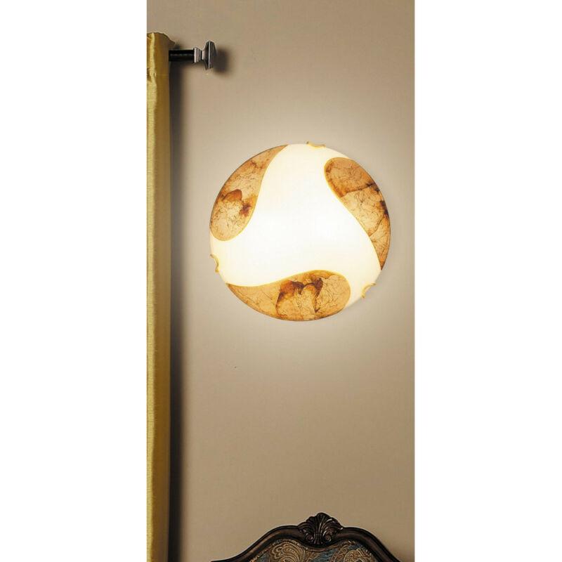 Rábalux Art gold 1942 ufó lámpa  fehér   fém   E27 2x MAX 60W   IP20