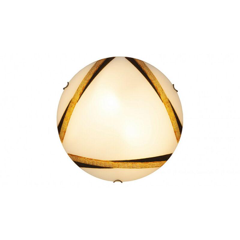 Rábalux Art bronze 1948 ufó lámpa fehér fém E27 2x MAX 60 E27 2 db IP20