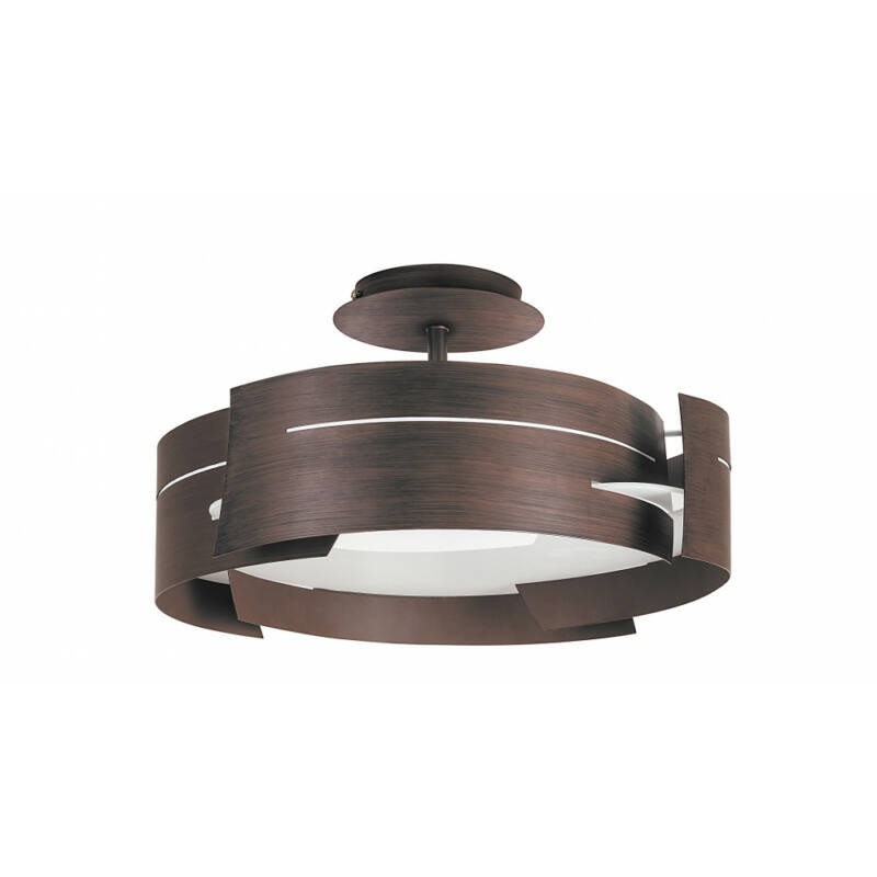 Rábalux Berbera 2216 konyhai mennyezeti lámpa wenge fém E27 3x MAX 60 E27 3 db IP20