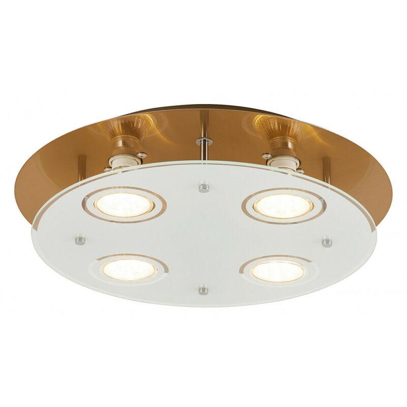 Rábalux Naomi 2255 mennyezeti lámpa  antik sárgaréz   fém   GU10 4x MAX 15W   GU10   4 db  400 lm  3000 K  IP20   A+