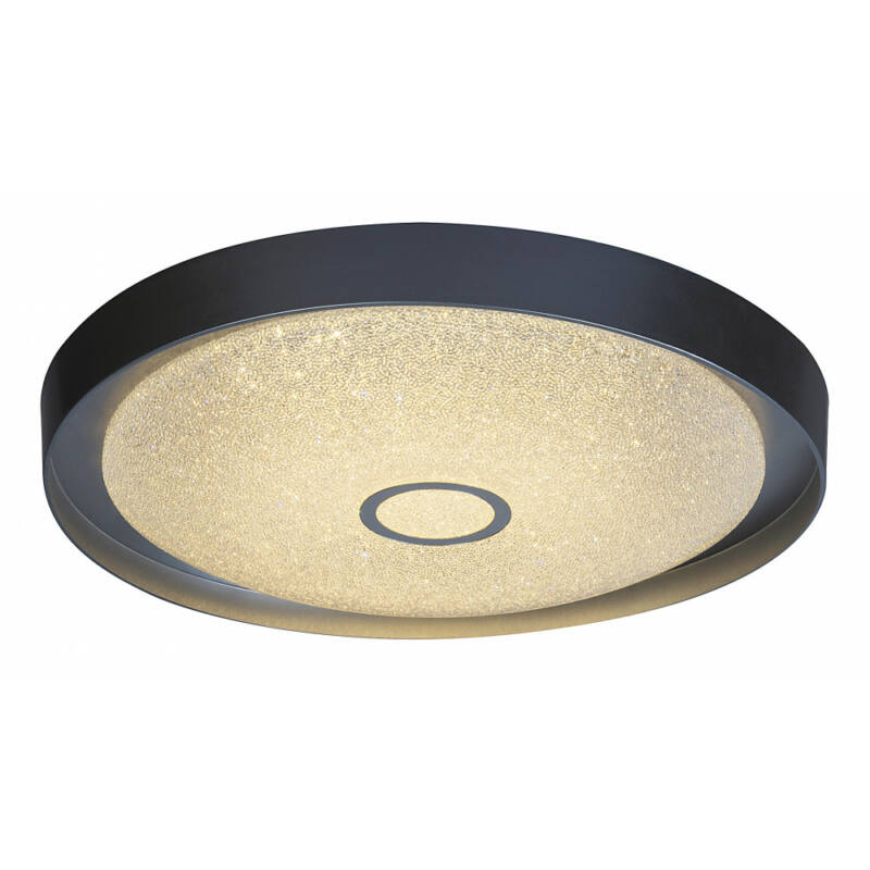 Rábalux Skyler 2297 ufó lámpa  króm   fém/ akril kristály   LED 22W   1630 lm  IP20   A+