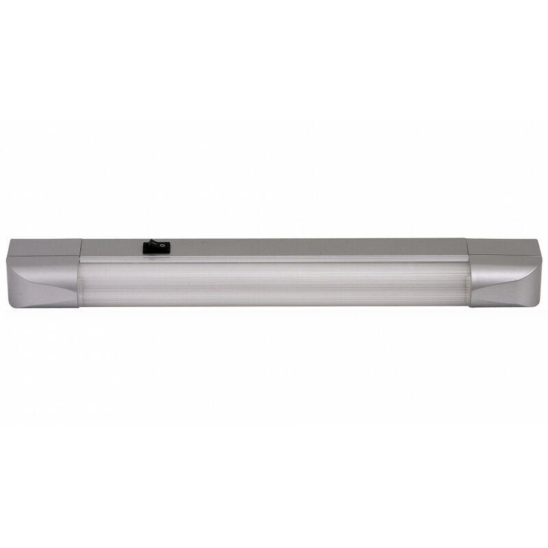 Rábalux Band light 2306 konyhapult világítás ezüst fém G13 T8 1x MAX 10 G13 1 db 630 lm 2700 K IP20 A