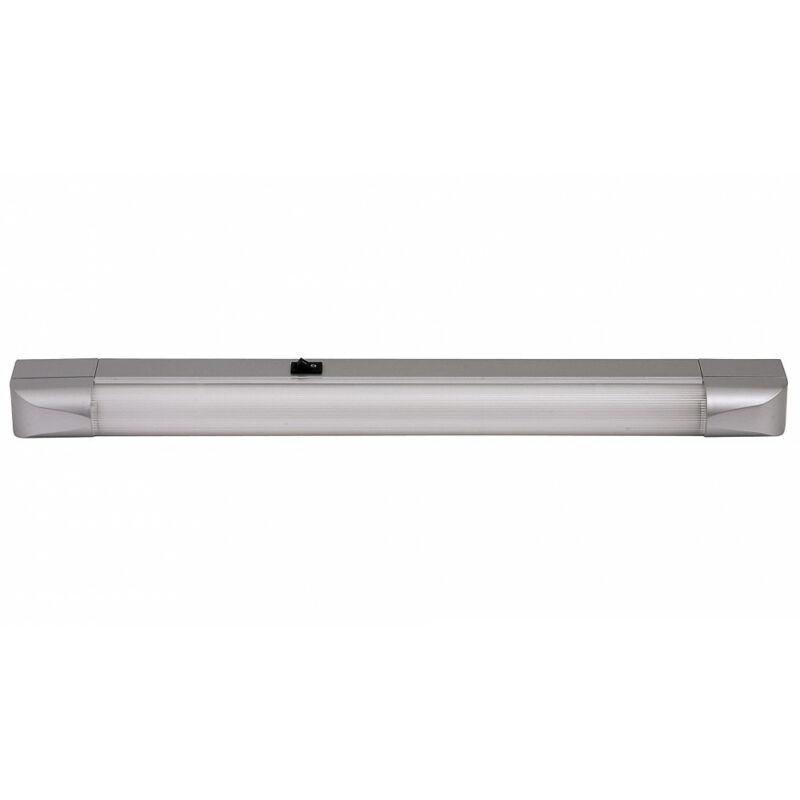 Rábalux Band light 2307 konyhapult világítás ezüst fém G13 T8 1x MAX 15 G13 1 db 950 lm 2700 K IP20 B