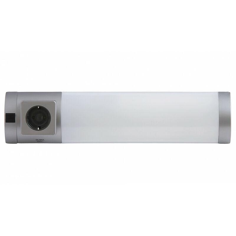 Rábalux Soft 2326 konyhapult világítás ezüst műanyag G23 PL 1x MAX 11 G23 1 db 840 lm 2700 K IP20 A